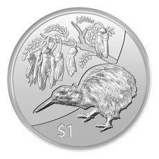 1 oz Ag Kiwi Treasures 2012