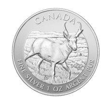 1 oz Ag Maple Leaf - Antelope 2013 5 CAD