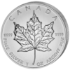 1 oz Ag Maple Leaf 5 CAD